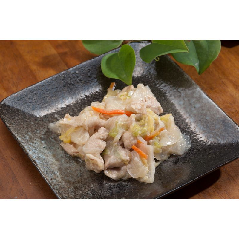 冷凍 豚肉と白菜の中華風あんかけ