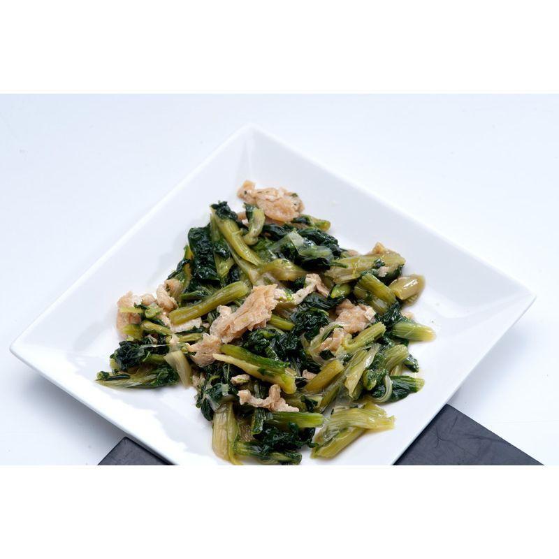 冷凍 小松菜と油揚げの和え物